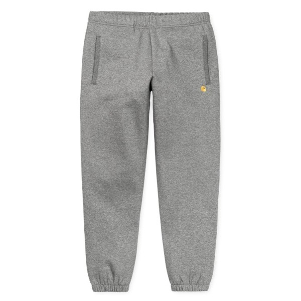 "Carhartt WIP Chase Sweat Pant ""Dark Grey Heather"" I026388"