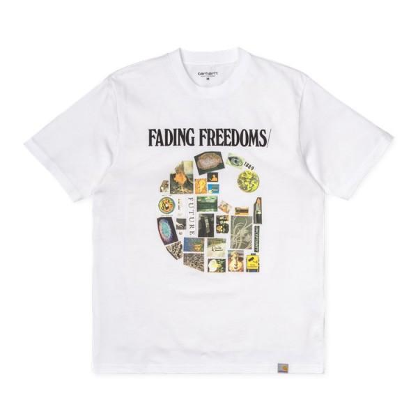"Carhartt WIP S/S Fading T-Shirt ""White"" I027103"