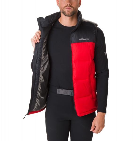 "Columbia Pike Lake Vest ""Black / Red"" 1738012-614"