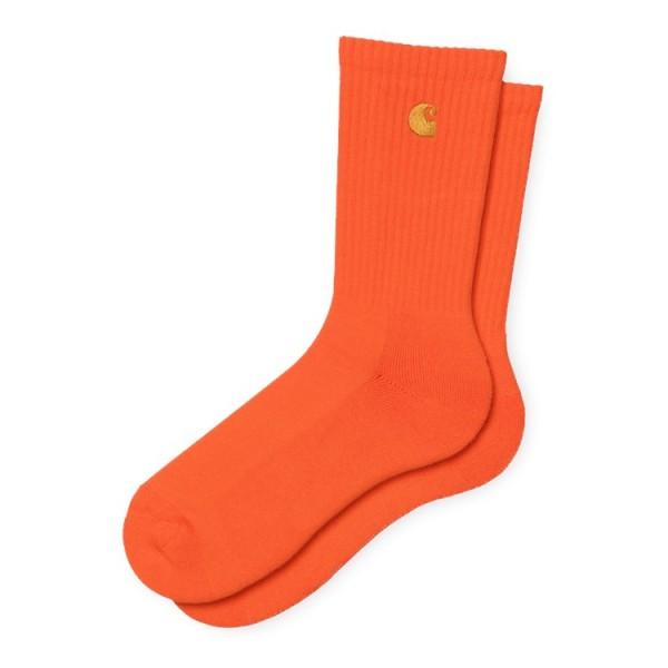 "Carhartt WIP Chase Socks ""Safety Orange / Gold"" I026527"