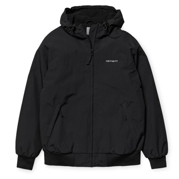 "Carhartt WIP Hooded Sail Jacket ""Black"" I022721"