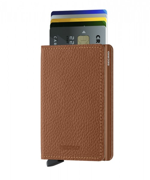 "SECRID Slimwallet Vegetable Tanned ""Caramello"""