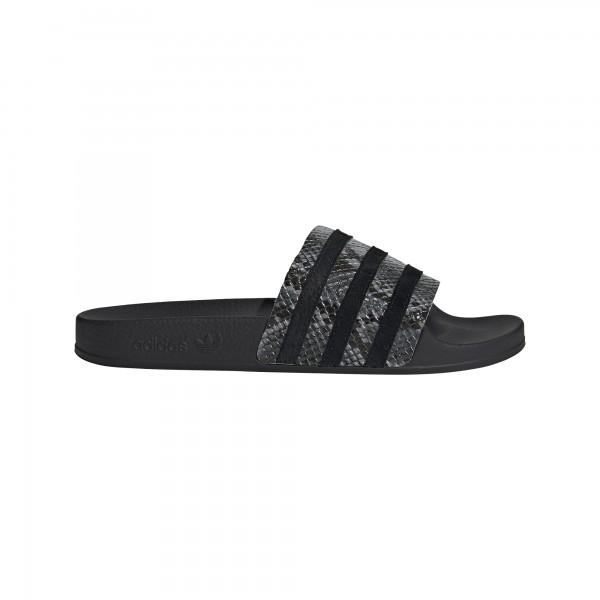 "adidas ADILETTE W ""grey five/core black/core black"" FU7041"
