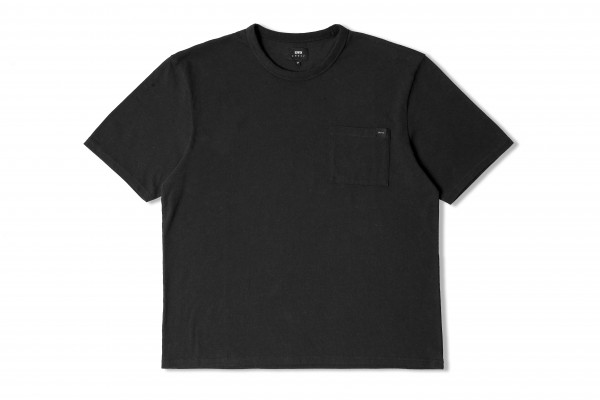 "Edwin Oversized Pocket TS Cotton Single Jersey ""Black garment washed"" I027938"